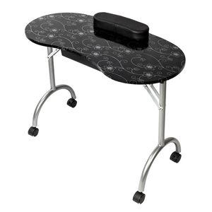 Berufsnagelkunst-Ausrüstungs-Nagel-Tabellen-Maniküre-Ausrüstung für Nagel-Salon mit Taschen-Schönheits-Salon-Möbeln