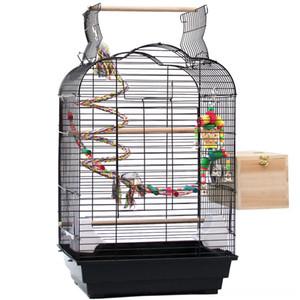 Dekorative Art-Rahmen Parrot Toy Leiter Vogelnest Eisen-Kunst-Rugged Vogel Supplies Pet Supplies Durable großen Raum Mittelständische Vogelkäfig