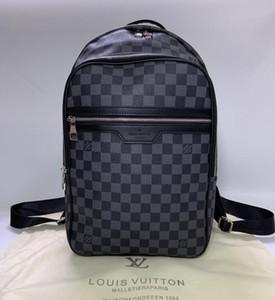 2020 borse a spalla Zaino Designers zaino di lusso del Mens caldo di marca della spalla del doppio maschile di scuola di marca borse in pelle Bag