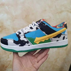 2020 New Skateboard Sports Shoes For SB Men Women Low Cut Leather Casual Outdoor Dunk Shoes Fashion Men Women Sneakers 36-44