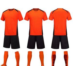 Encargo del juego de fútbol uniforme uniformes de clases de niños adultos de verano jerseys mesa de luces hombres y mujeres estudiantes de manga corta