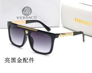 Geben Sie Schiffsbeweis Sonnenbrillen retro Vintage Mann Sonnenbrillen Designer sunglasse glänzenden Goldrahmen Frauensonnenbrille Spitzenqualität 97393 frei