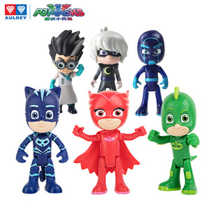 Auldey PJ Maskeleri Action Figure Catboy Owlette Gekko Romeo Luna Kız Gece Ninja Pijama Maskeli Juguete Kahramanlar PJ Maskeleri Oyuncaklar Çocuk Oyuncakları