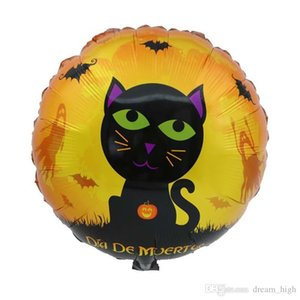 18 İnç Alüminyum Film Balon Halloween Dekor Pumpkins Şeytan Hayalet Helyum Balon Ana Parti Dekorasyon Şişme Oyuncaklar DHL