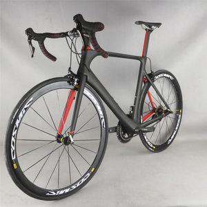 Hight ModulusToray T700 Carbon Fiber Aero road bike complete bike FM268 with SHIMAN00 R7000 groupset 22 speed
