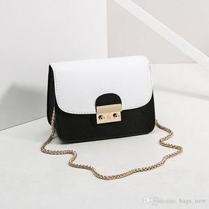 Женщины плеча Sling Chain Bag Девушки Лучшие качества сумки известных брендов Коммуникатор Chain Mini Square Diagonal Женский Малый мешок верхнего качества