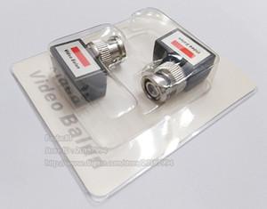 높은 품질 90도 각도 카메라 CCTV BNC 영상 발룬 UTP 트랜시버 커넥터 어댑터 / 무료 배송 / 10PAIRS