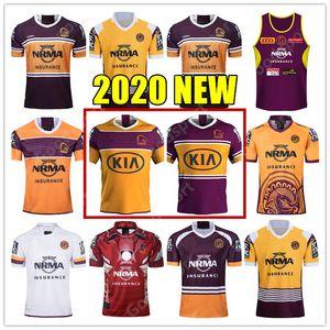 2020 NOUVEAU Brisbane Broncos Rugby Jersey Brisbane Anzac 2020 Maillot Homme Indigène Maillots de Rugby Darius Boyd McCullough Ben Hunt