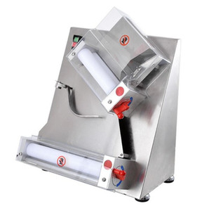 370W Elektro-Pizza-Teig Rollen-Maschine Edelstahl Max 12-Zoll-Pizza-Teig-Presse-Maschine Sheeter Food Processor