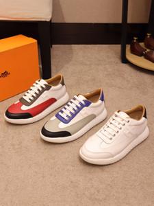 Yüksek kaliteli erkek spor ayakkabısı lüks tasarım erkek deri rahat ayakkabılar 2020 YENİ ZP erkek moda rahat ayakkabılar
