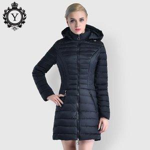 COUTUDI 2020 neuer Frühling-Frauen Parka unten Cotton Padded gesteppte Mäntel und Jacken Langer Frühling Winddichtes Frauen Warm Jacken