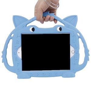حقيبة أطفال لباد ميني 5 4 3 2 1 7.9 بوصة غير سامة Silico لطيف فوكس الكرتون 3D واقية صدمات حامل الغطاء