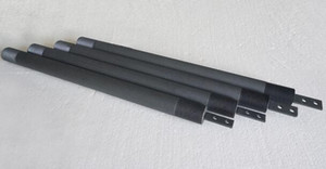 Anode titanique titanique de platine d'électrode Anode titanique de chlorateur de sel pour le traitement de l'eau