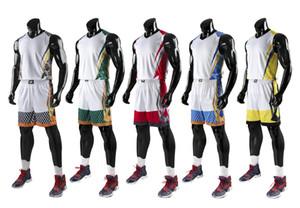Trajes de baloncesto para niños para niños, juegos de uniformes de baloncesto para jóvenes Kits Ropa deportiva Chándal de fútbol Jersey de retroceso Pantalones cortos