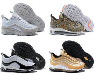 2018 Непобедимый х 97 OG Дышите Мужские баскетбольные кроссовки кроссовки женщин кроссовки стелька Мужчины спортивной обуви Walking дизайнер обуви