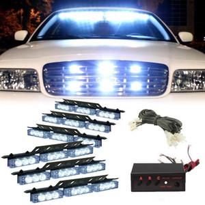 Flash ambré / blanc / blanc Ambre 54 LED pour véhicules de secours à DEL pour pont avant / grille ou feu arrière