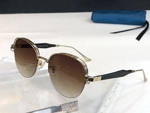 Neue Luxus-Damenmode Designer-Sonnenbrille 1065 retro runder Rahmen Trend Avantgarde Nahtfarbe Stil Top-Qualität uv400 Sonne Gläser