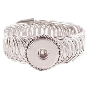 Mejor vendedor de joyas de alta calidad de pulseras intercambiables Snap durante 18 -20mm encaje de forma Ginger Snaps Kc0622