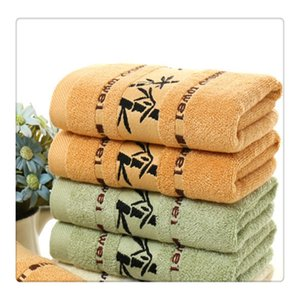 Adeeing Toallas Absorbente de fibra de bambú Suave Suave Algodón Toalla de mano Toalla de gimnasio Toalla de baño Toallas de baño Paños de baño Blanco de alta calidad