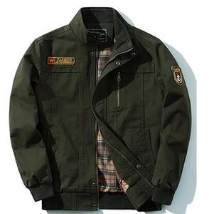 새로운 캐주얼 남성 의류 복장 군사 재킷 면화 재킷 두꺼운 겉옷 코트 의류