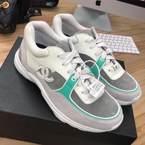 Shoes Sneakers Casual com origem Box 2020 calçados casuais do Laço-Acima de Fitness Zapatos de Mujer Atlético Luxo sapatas das mulheres Moda Tipo