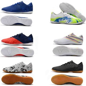 2020 World Cup Mens Soccer Cleats Nemeziz Messi Tango 18.3 IC Indoor Soccer Shoes Nemeziz 19.4 TF IC Football Boots Scarpe Calcio Chuteiras