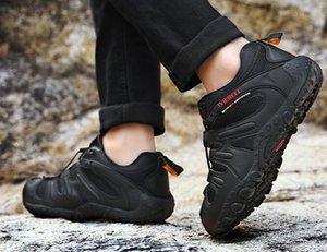 Top Sport hommes respirant chaussures d'alpinisme en plein air hommes ANTISKID chaussures de randonnée portent la formation yakuda résistant gymnase marche en ligne le jogging