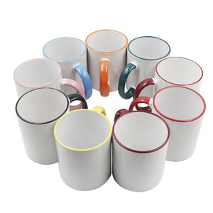 Hihg качества Логотип Customized Белые керамические кружки Персонализированные Кубок Дизайн кофе для Путешествия Отдых Туризм Пикник