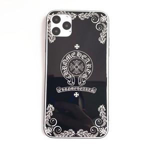 iPhone için lüks Telefon Kılıfı 11 / 11Pro / 11Pro MAX Tasarımcı Marka Mektupları Toptan Yüksek Kalite Moda Siyah Arka Kapak