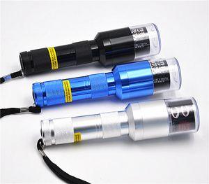 Filtre Grinder Creative lampe de poche en alliage d'aluminium Herb automatique cigarette électrique Grinders Crusher de poche Accessoires pour Fumeurs 17 4YH E1