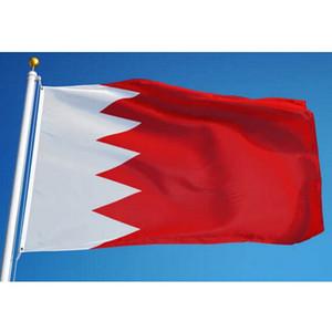 3x5 Bandeira Bahrain 90X150CM personalizado ft poliéster suspensão vôo Bandeiras Nacional do Bahrain País bandeira Indoor uso ao ar livre