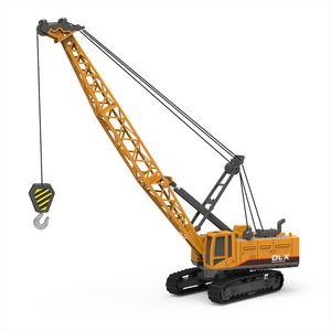 크레인 장난감 건설 차량 1시 50분 다이 캐스트 엔지니어링 장난감 트랙터 높은 시뮬레이션 소년 기계 모델 장난감 어린이