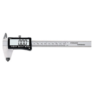 Touch Screen Electronic Digital Caliper High Precision Measuring Tool Stainless Steel 0 - 150mm
