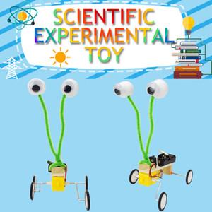 روبوت الزواحف نموذج أطقم diy العلوم تجربة اللعب للأطفال الإبداعية التدريب العلمي الفيزياء التعليمية لعبة هدية