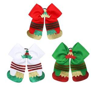 yeni Noel kızlar Scrunchies şirin çocuklar saç Scrunchies kızlar hairbands çocuklar saç bağları bebek hairband kızlar saç aksesuarları