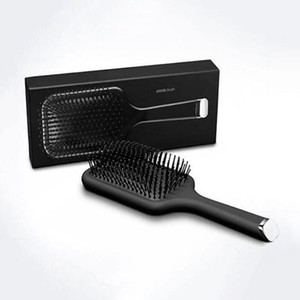 9HD Paddle Brush Haar Air Cushion Comb Marke Kamm Detangling Bürste Haar-Strecker-Eisen mit Kleinkasten