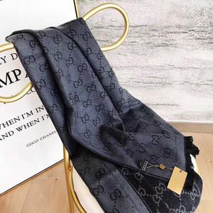 moda di lusso sciarpa lettera echarpe primavera e l'autunno del marchiomens sciarpa scialle di design e donna Cashmere sciarpa 180 * 70CM écharpe de luxe
