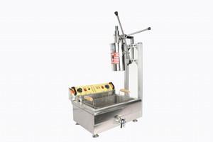 Spanisch Churros mit Friteuse Maschine zum Verkauf / populärer Edelstahl spanisch churro Maschine / einfache Bedienung Churros Füllmaschine