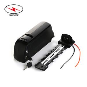 Высокая безопасность 48V 1000W 1500W Аккумулятор 48V 12Ah Электрический велосипед бутылки Downtube батареи в Dolphin типа с зарядным устройством 2A