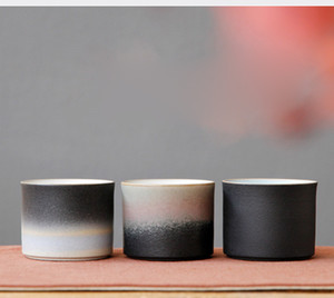 Vintage Japanese Tea Cup Grosso Pottery Teacup Mestre Tea Bowl Chinese Kung Fu Tea Set Copos Teaware Decor Artesanato