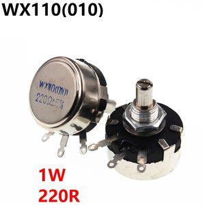 WX110 WX010 010 1W 220R potenziometro regolabile resistenze