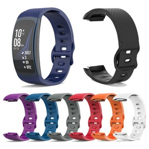 Replacement Wristband For Samsung Gear Fit 2 Pro Band Luxury Silicone Watchband For Samsung Fit2 SM-R360 Strap Anti-lost