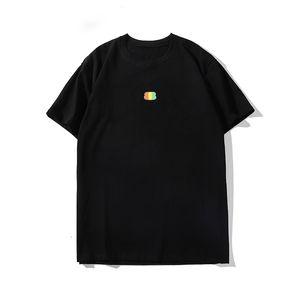 Maniche corte stampa di modo Mens di alta qualità Designer shirt Hop T Shirt Designer di lusso magliette Uomini Donne Hip