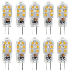 10PCS X G4 LED 전구 2W 12VAC / DC 바이 핀베이스 20W 할로겐 램프 전구 동등한 밝기