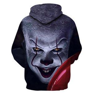 Película: de Stephen King Es la impresión 3D cosplay Sudaderas Hombre slipover sudadera chaqueta del super héroe flojo y cómodo