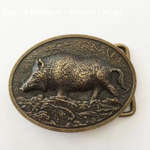 New Style 3D Wild boar Cowboys belt buckles BC-240 Suitable for 4cm wideth belt with continous stock