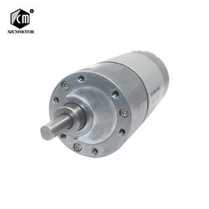 10 개 12VDC 8-1000 RPM 알토 토크 Baixo Rpm DC Motor 모든 Metal Baixo Ruído Motor Da Engrenagem JGB37-545