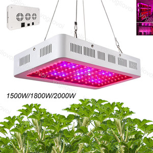 Led Grow Light Switch Full Spectrum doppio chip singolo 1500W 1800W 2000W Per coperto Grow Tenda Verde Case pianta idroponica sistemi DHL