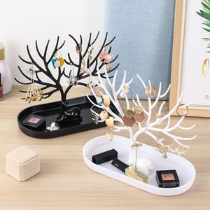 Cute Deer S·ape Home Decoration Flower Plant Design Home Decor Key Jewelry Box Storage Organizer
