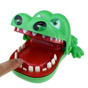 طبيب تمساح لعب 15x13x8 سنتيمتر التمساح الأسنان التقط لعب كبير الفم دغة الأصابع التفاعلية لعبة البلاستيك الحيوان المفاتيح الاطفال الهدايا